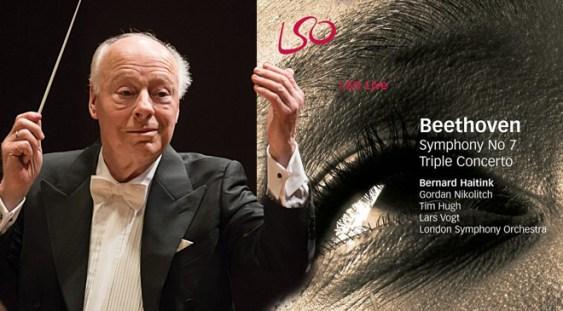 LSO Live: Bernard Haitink – Simfonia a 7a și Triplul Concert de Ludwig van Beethoven