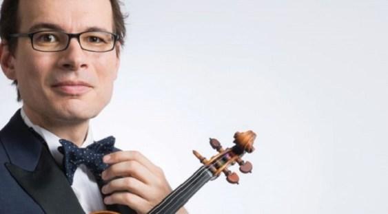 Alexandru Tomescu si dirijorul Lubnan Baalbaki @ Sala Radio