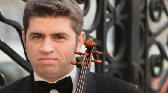 Violonistul REMUS AZOIȚEI revine la Sala Radio