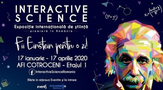 Expoziția internațională de știință Interactive Science