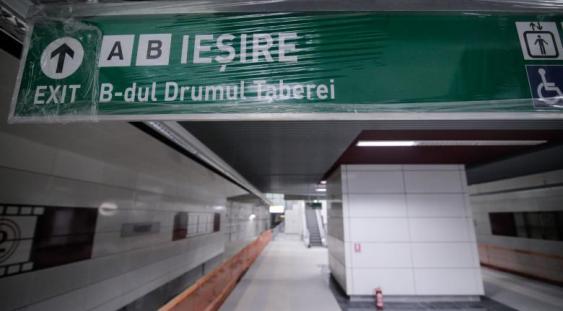 Se inaugurează Metroul din Drumul Taberei!