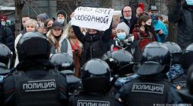 VIDEO | Proteste masive în Rusia în sprijinul lui Navalnîi
