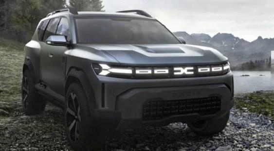 VIDEO | Dacia a lansat conceptul Bigster, un SUV mai mare decât Duster