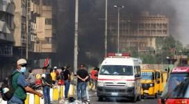Zeci de morți în două atacuri sinucigașe care au avut loc la Bagdad