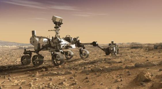 VIDEO | Primele imagini video de pe Marte transmise de roverul NASA Perseverance
