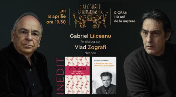 Gabriel Liiceanu și Vlad Zografi despre Cioran, the king of pessimists