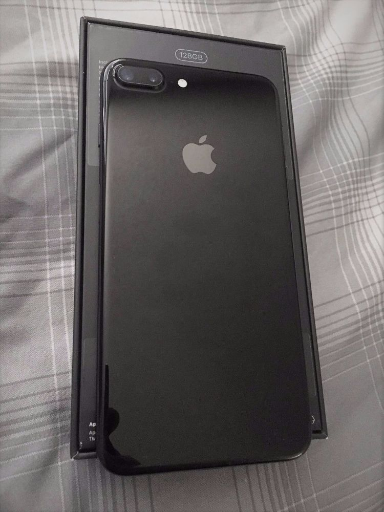 Iphone 7 black brand
