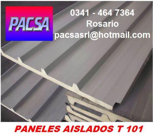panel aislado para cubiertas de techos