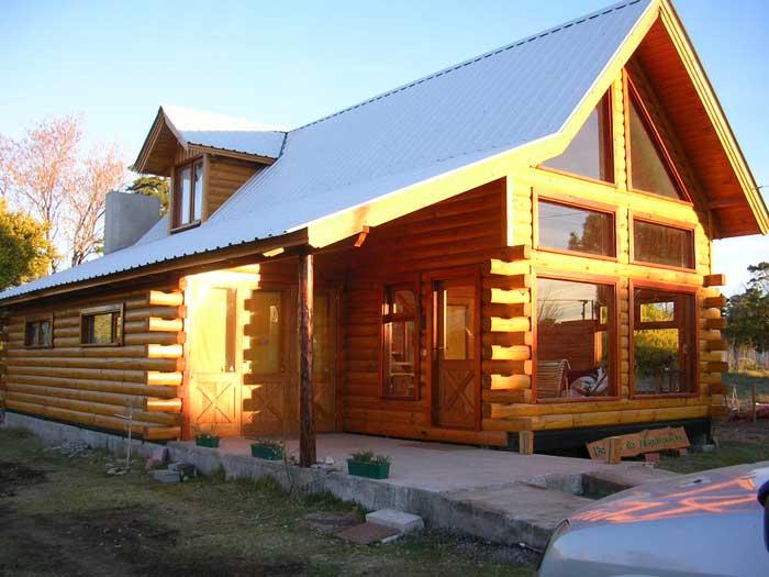casa de troncos 8
