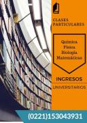 Clases particulares INGRESOS UNIVERSITARIOS MEDICINA EXACTAS