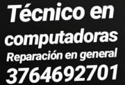 Computadoras Serv Técnico. Acept Tarjeta