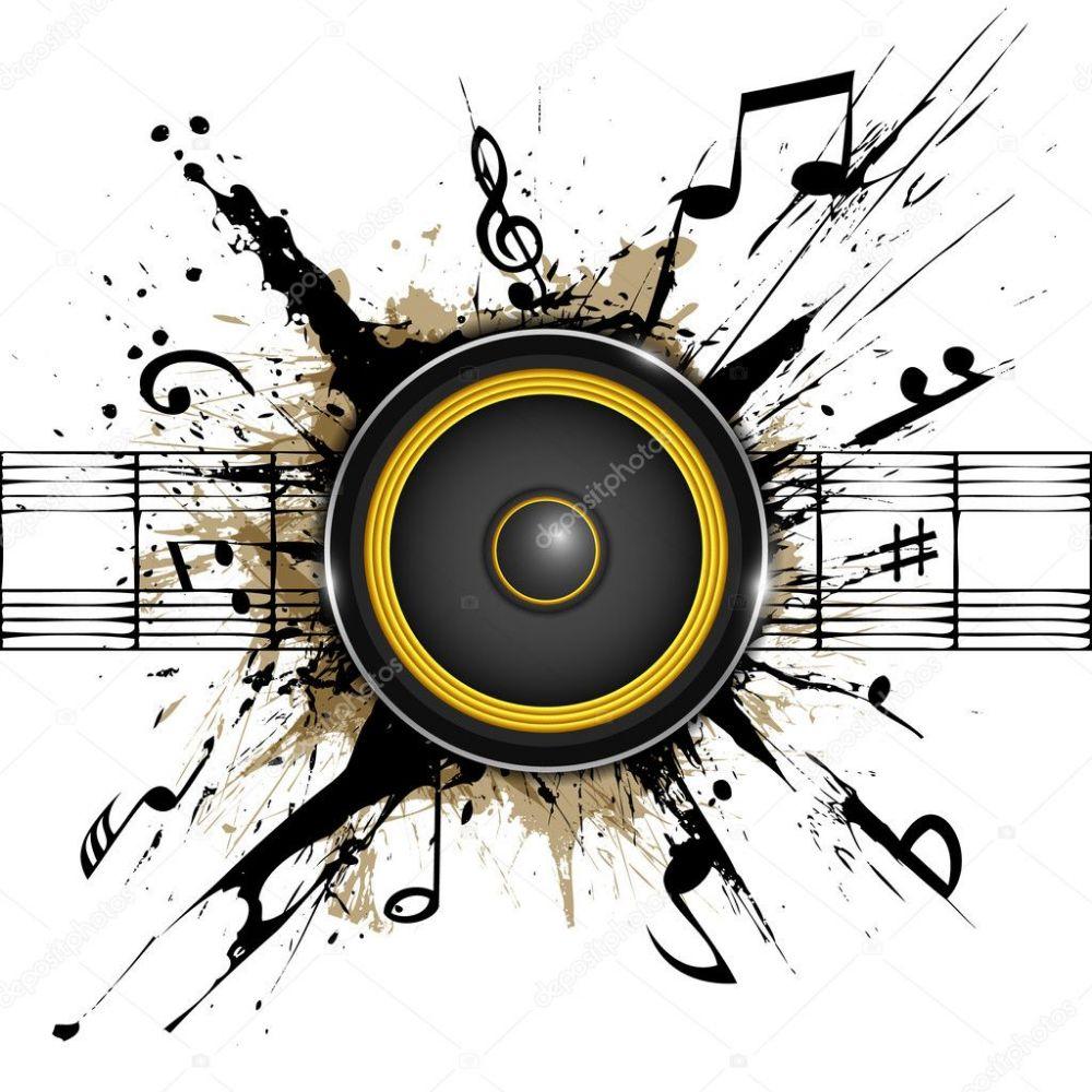 depositphotos_26515863-stock-illustration-sound-speaker-on-ink-stains