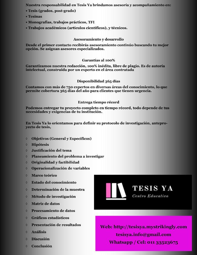tesis ya folleto