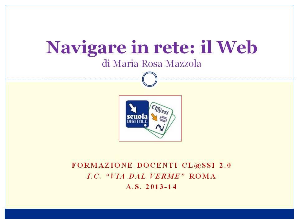 navigare il web