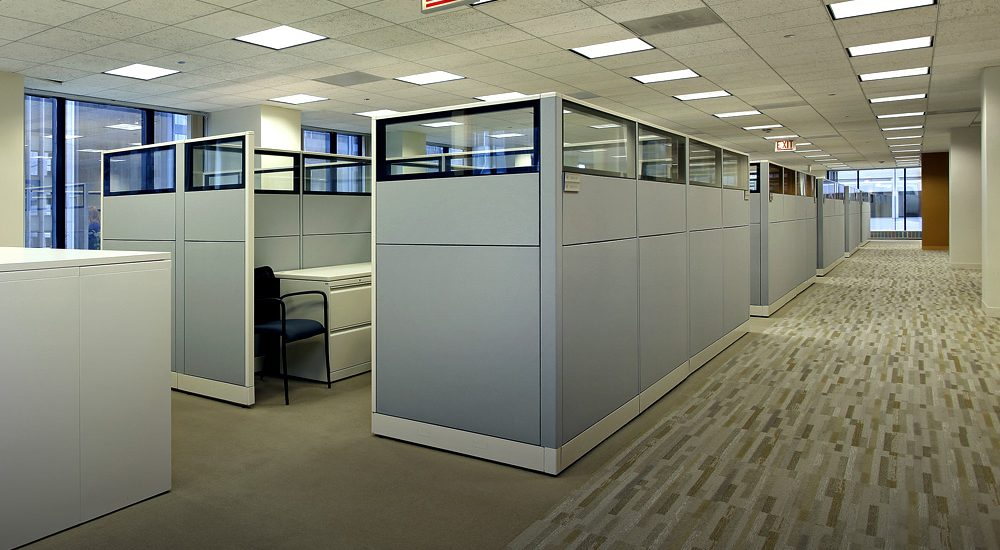 Cubicle Cleaning Services : Cubicle wall cleaning classic commercial services