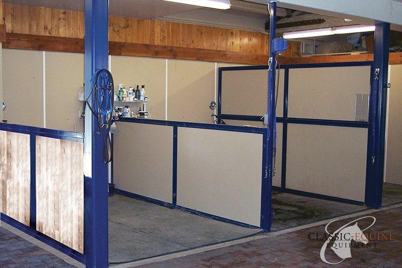 wash bay options barn accessories