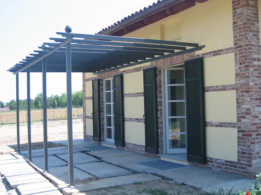 Pergola Piemont Modern Metal Structures Classic Garden