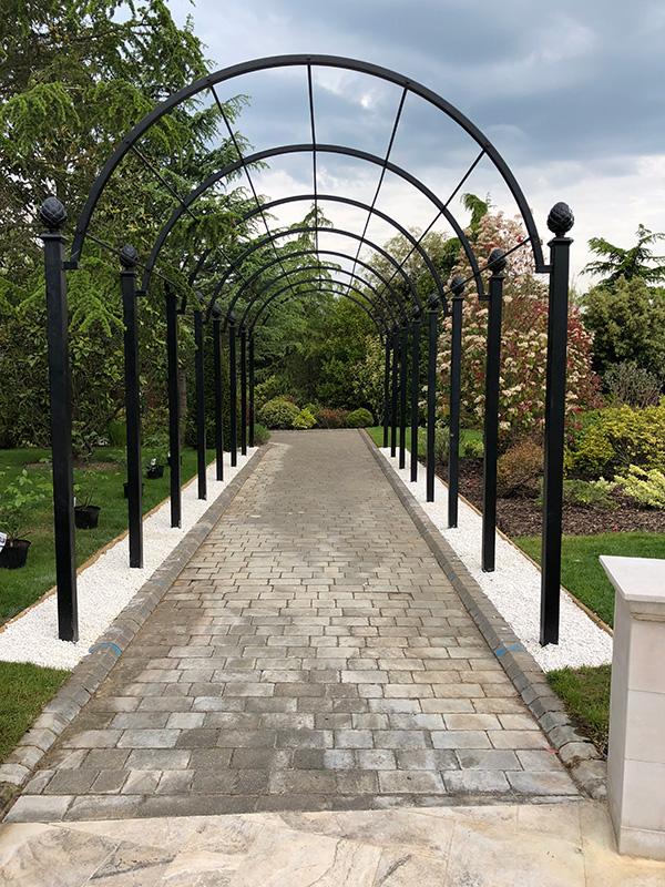 St Albans Garden Arcade Garden Archway Classic Garden