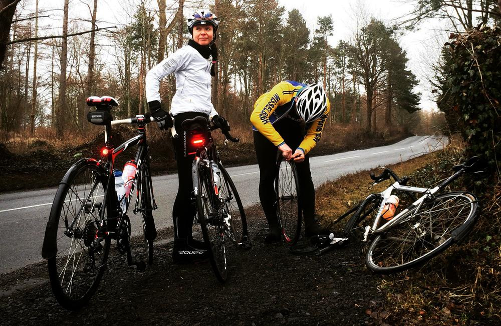 Réparer une crevaison de pneu de vélo