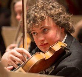 violinist Roland Clark (Steve Dunwell photo)