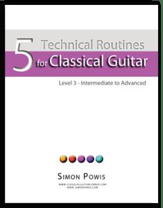 Classical Guitar Warm ups