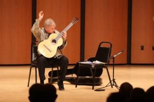 Ben Verdery in his solo concert