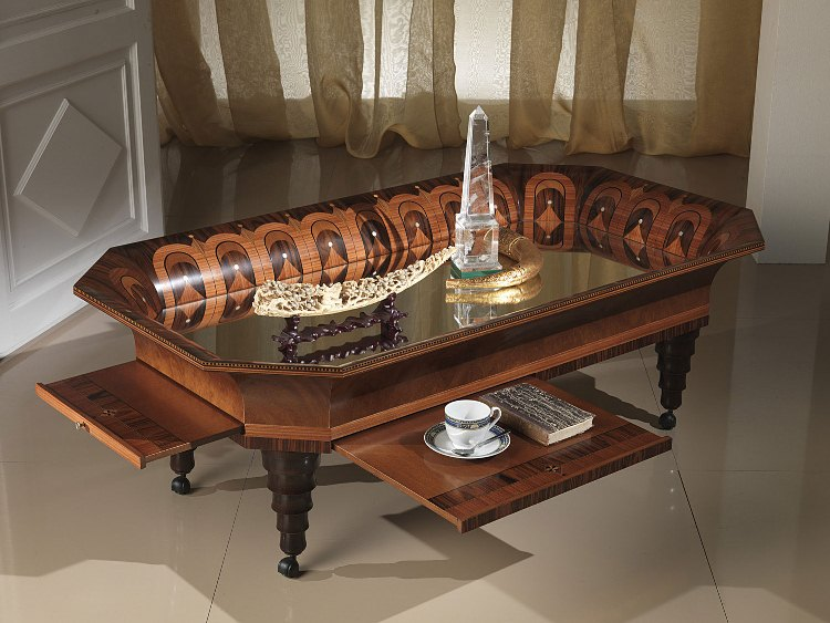 Tray Classic Coffee Table In Italian Style Top And Best