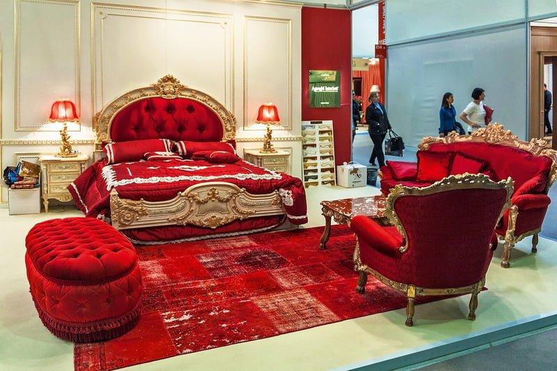 Red Italian Style Bedroom FurnitureTop And Best Italian