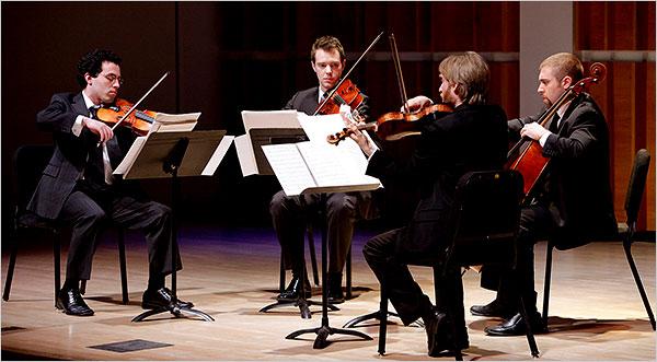 JACK Quartet (Photo: Rachel Papo)