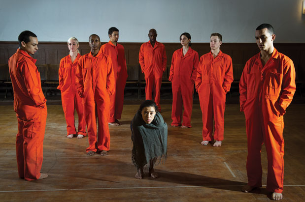 """Spectrum Dance Theater's """"A Cruel New World / the new normal"""" (Photo: Nate Watters)"""
