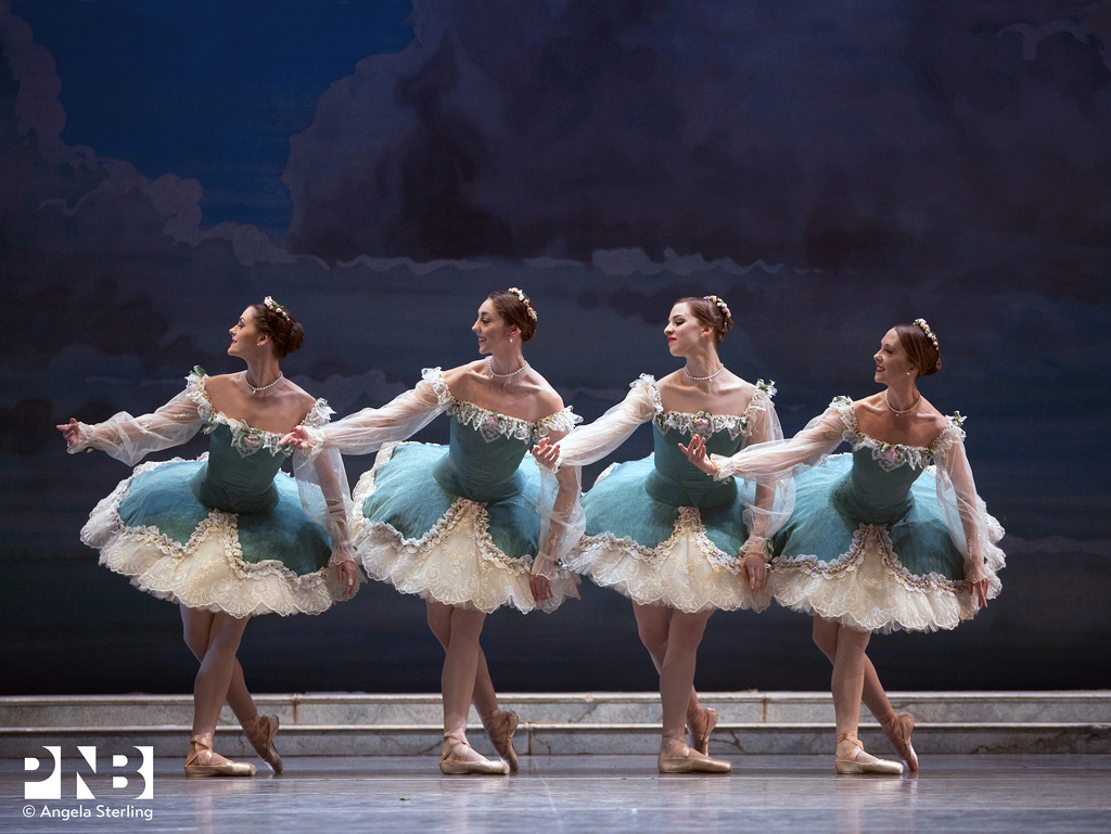 "Pacific Northwest Ballet's production of ""Sleeping Beauty"" (Photo: Angela Sterling)"