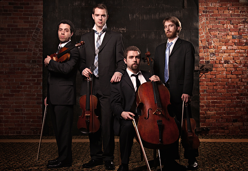 JACK Quartet (Photo: Stephen Poff)