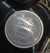 NSU tankdop Weltmeister 1953 1954