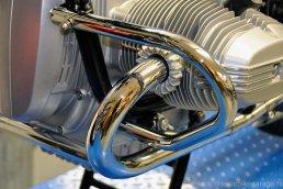 BMW R80/7 - nieuwe uitlaatbochten en valbeugels