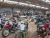 Motormarkt-Grubbenvorst wordt gehouden in een manege