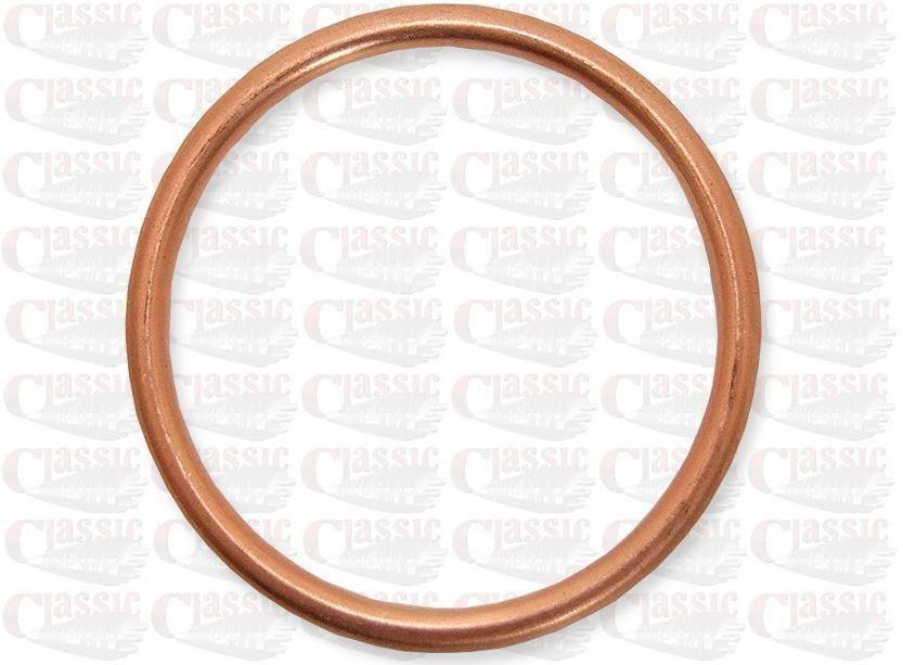bsa bantam d14 copper exhaust gasket ring