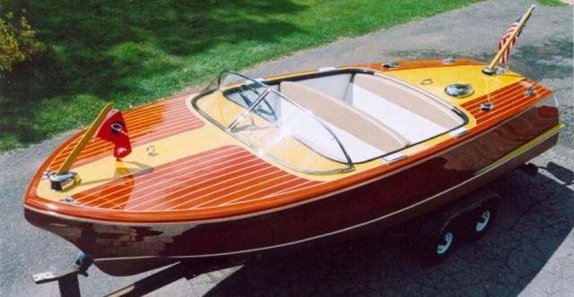 Wooden Boats - 1955 - 1958 Capri