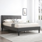Boston Upholstered Headboard And Platform Bed Frame Classic Brands