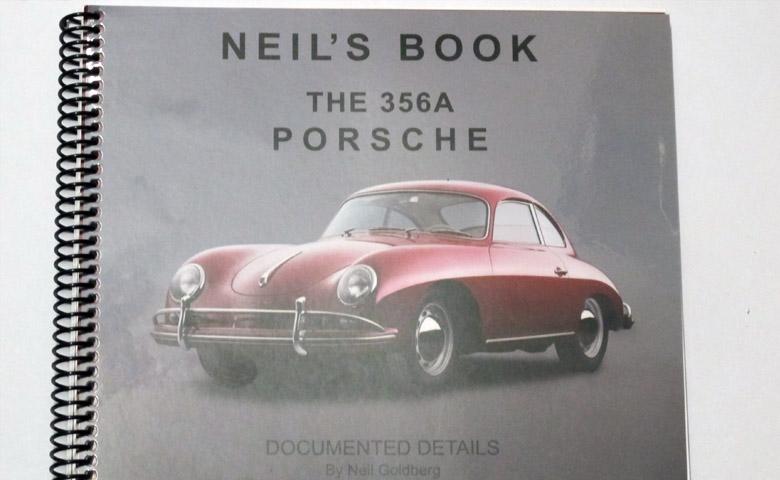 The Porsche 356 A Coupe 1958 / Neil's Book