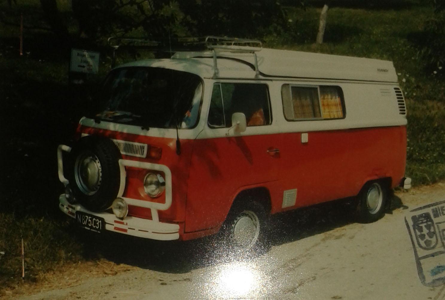 VW Transporter T2b 1972