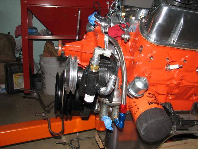 67 Mustang Flaming River Power Rack And Pinion
