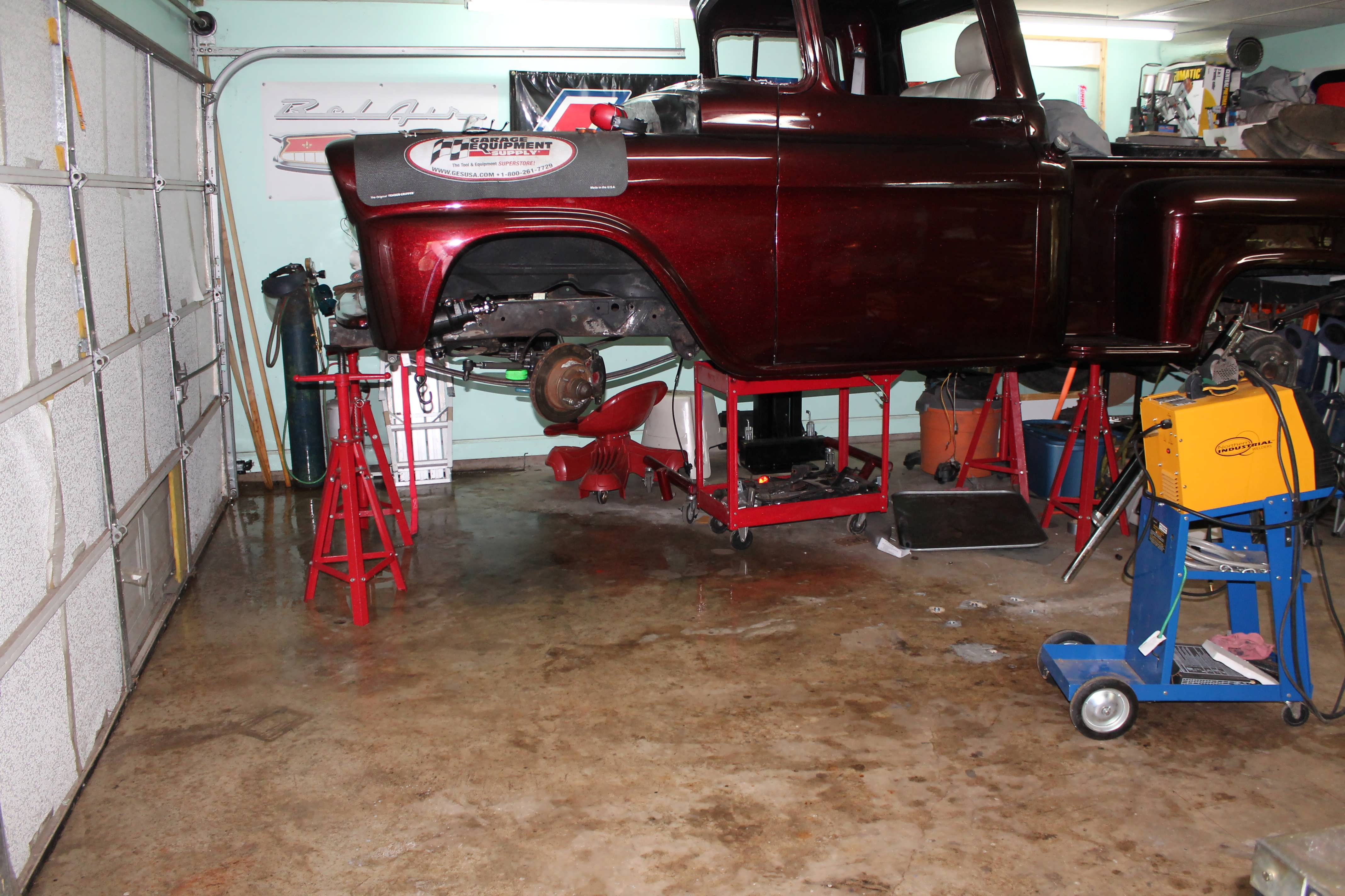 59 Chevy Truck Power Steering Classic Cars And Tools Bolt Conversion Kit Pump The Original Gear Obviously Did Job But Today Is Necessary At Least For Me It I Drove My Down Street