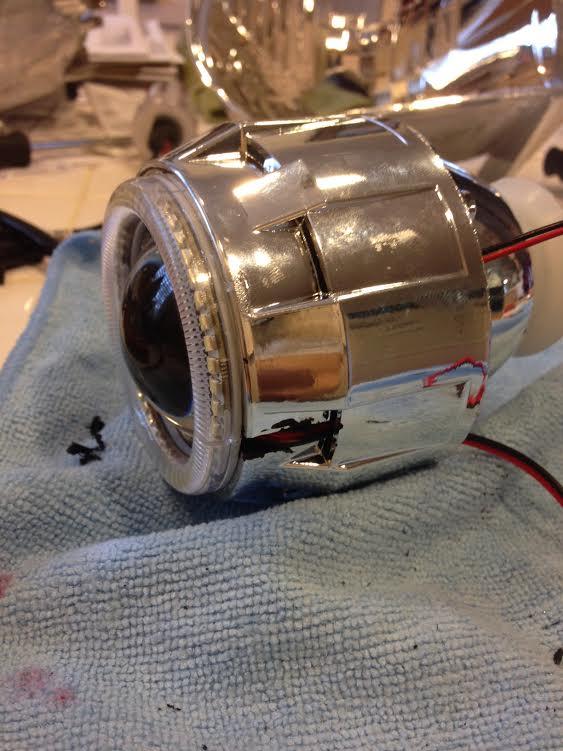 HID projector headlights installation '02 Honda CRV