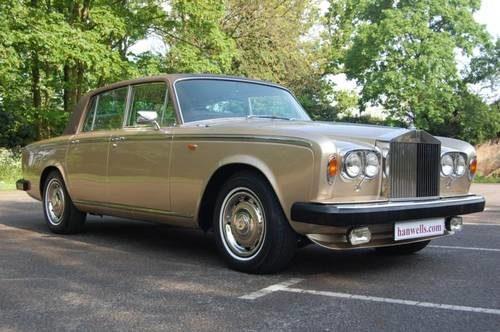 For Sale 1980 W Rolls Royce Silver Shadow Series Ii In