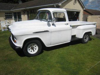 For Sale 1956 Chevy Stepside Pick Up Truck 3200 Long Bed