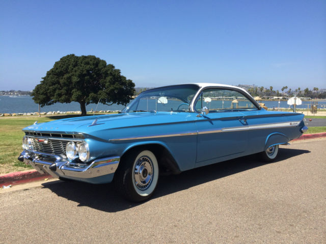Seller of Classic Cars   1961 Chevrolet Impala  Jewel Blue tri color     1961 Chevrolet Impala  Jewel Blue tri color blue