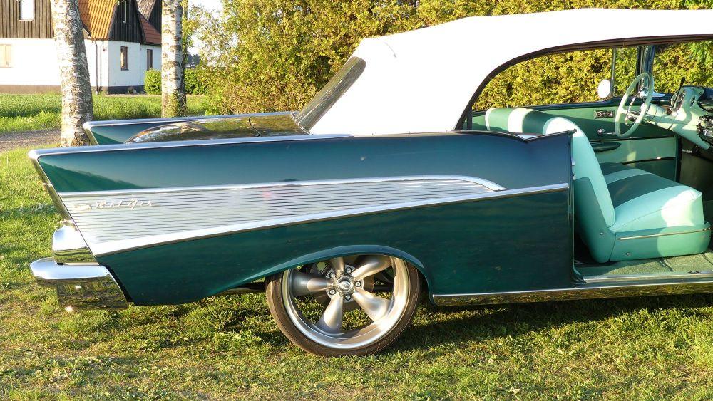 Chevrolet Bel Air 1957 Convertible (34)