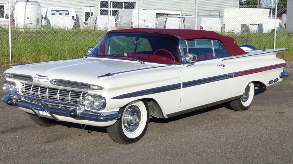 Chevrolet Impala 1959 Convertible (9)