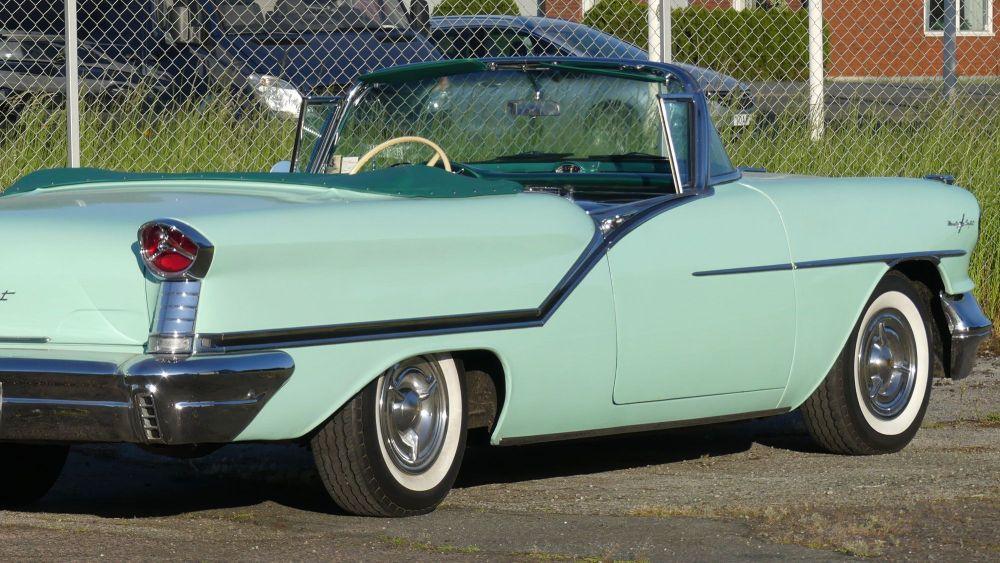 Oldsmobile Starfire 1957 98 Convertible (9)