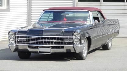 Cadillac De Ville 1967 Convertible (2)